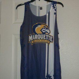 Womens NCAA Marquette Stay Dry Tanktop NWT